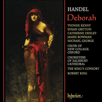 Cover of CDA66841/2 - Handel: Deborah