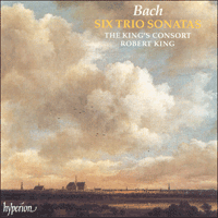 Cover of CDA66843 - Bach: Six Trio Sonatas transcribed