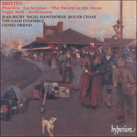 Cover of CDA66845 - Britten: Phaedra & other works