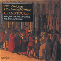 Cover of CDA66847 - His Majestys Sagbutts and Cornetts Grand Tour