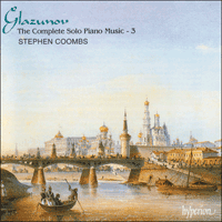 Cover of CDA66855 - Glazunov: The Complete Solo Piano Music, Vol. 3