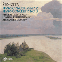 Cover of CDA66858 - Prokofiev: Piano Concertos Nos 2 & 3