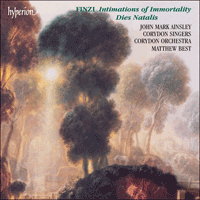 CDA66876 - Finzi: Intimations of Immortality & Dies natalis