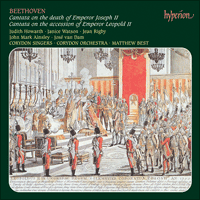 Cover of CDA66880 - Beethoven: Early Cantatas