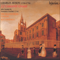 Cover of CDA66891/2 - Avison: Concerti Grossi