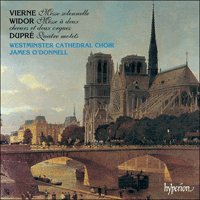 Cover of CDA66898 - Vierne, Widor & Dupr�: Choral Music