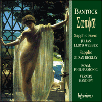 Cover of CDA66899 - Bantock: Sappho & Sapphic Poem