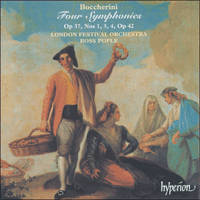 Cover of CDA66904 - Boccherini: Four Symphonies