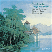 Cover of CDA66906 - Mendelssohn: Songs and Duets, Vol. 1