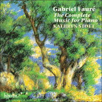CDA66911/4 - Faur�: The Complete Music for Piano