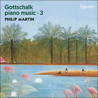 Cover of CDA66915 - Gottschalk: Piano Music, Vol. 3
