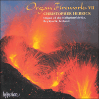 Cover of CDA66917 - Organ Fireworks, Vol. 7