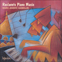 Cover of CDA66926 - Roslavets: Piano Music