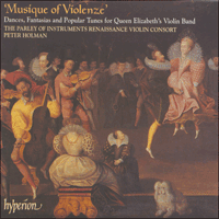 Cover of CDA66929 - Musique of Violenze