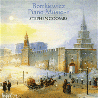 CDA66933 - Bortkiewicz: Piano Music, Vol. 1