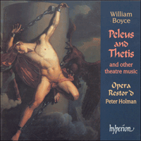 Cover of CDA66935 - Boyce: Peleus & Thetis