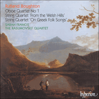 Cover of CDA66936 - Boughton: String Quartets & Oboe Quartet No 1