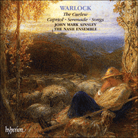Cover of CDA66938 - Warlock: Curlew, Capriol, Serenade, Songs