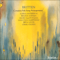 Cover of CDA66941/2 - Britten: Complete Folk Song Arrangements