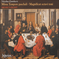 Cover of CDA66943 - Gombert: Missa Tempore paschali & other sacred music