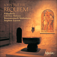 Cover of CDA66947 - Rutter: Requiem & other choral works