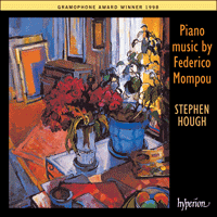Cover of CDA66963 - Mompou: Piano Music