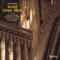 Cover of CDA66964 - Stanford: Sacred Choral Music, Vol. 1