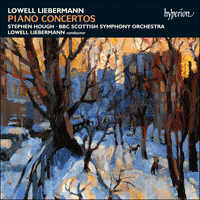 Cover of CDA66966 - Liebermann: Piano Concertos
