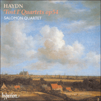 Cover of CDA66971 - Haydn: Tost I Quartets Op 54