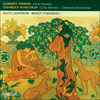 Cover of CDA66979 - Koechlin & Piern�: Cello Sonatas