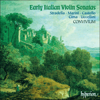 CDA66985 - Early Italian Violin Sonatas