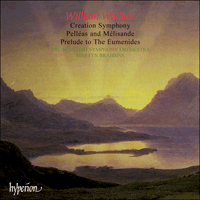 Cover of CDA66987 - Wallace: Creation Symphony & other orchestral works