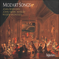CDA66989 - Mozart: Songs