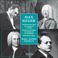 Cover of CDA66996 - Reger: Piano Music
