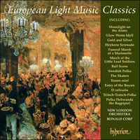 Cover of CDA66998 - European Light Music Classics
