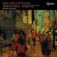 Cover of CDA67005 - New York Variations