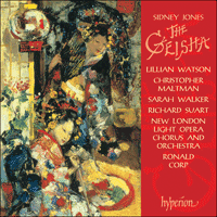 Cover of CDA67006 - Jones: The Geisha