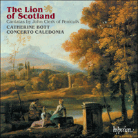 Cover of CDA67007 - Clerk: The Lion of Scotland