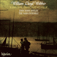Cover of CDA67008 - Lloyd Webber: Piano music, chamber music and songs