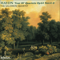 Cover of CDA67012 - Haydn: Tost III Quartets Nos 4-6