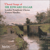 Cover of CDA67019 - Elgar: Choral Songs