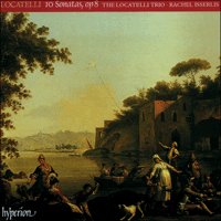 Cover of CDA67021/2 - Locatelli: Sonatas Op 8