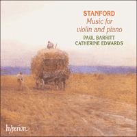Cover of CDA67024 - Stanford: Music for violin and piano