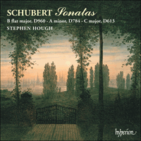 Cover of CDA67027 - Schubert: Piano Sonatas