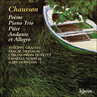Cover of CDA67028 - Chausson: Chamber Music