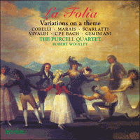 Cover of CDA67035 - La Folia