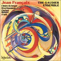 Cover of CDA67036 - Fran�aix: � huit & Divertissement