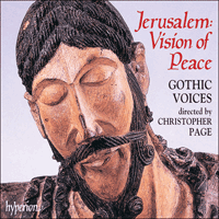 Cover of CDA67039 - Jerusalem, Vision of Peace