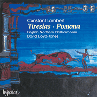 Cover of CDA67049 - Lambert: Tiresias & Pomona