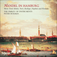 Cover of CDA67053 - Handel in Hamburg